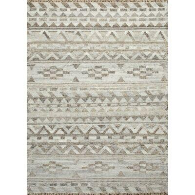 Alvie Handmade Flat Weave Wool Rug, 160x230cm