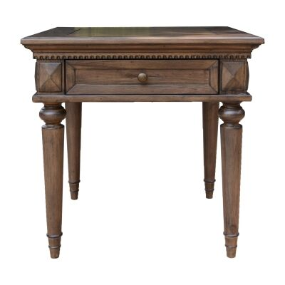 Aldreth Pine Timber Lamp Table