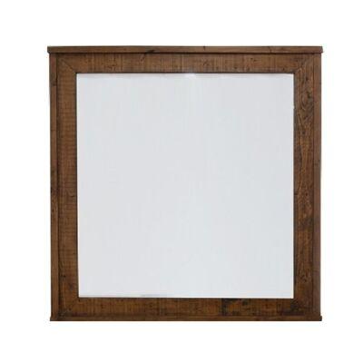Maryland Pine Timber Framed Dressing Mirror, 100cm