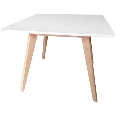 Wistow Wooden Square Dining Table, 100cm