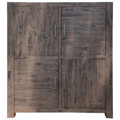 Sedgman Acacia Timber 4 Door Cabinet