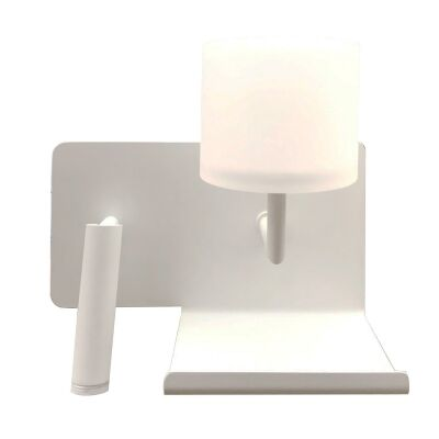 City Vigo LED Wall Light with Right Oriented Reading Light