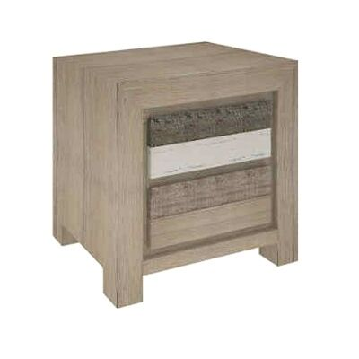 Lafite Acacia Timber Bedside Table