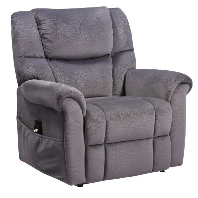 Molanosa Fabric Upholstered Lift Armchair, Navy