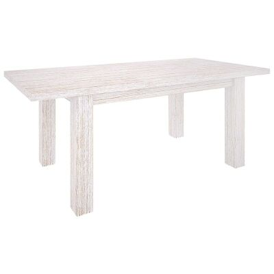 Viborg Mountain Ash Timber Extensible Dining Table, 160-210cm