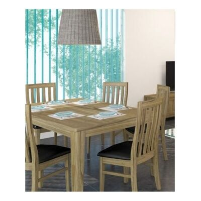 Cosmo Solid Mountain Ash Timber 225cm Dining Table