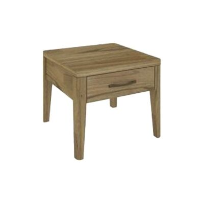 Cosmo Solid Mountain Ash Timber Lamp Table