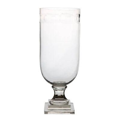 Lourdes Glass Goblet Vase, Large