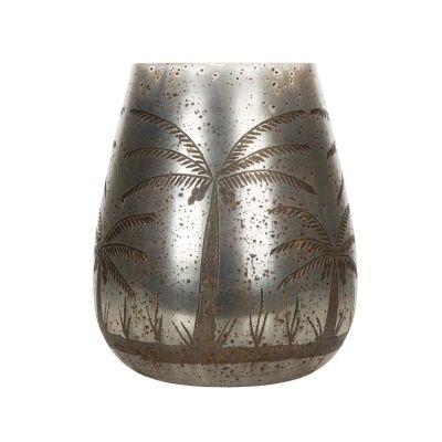 Cairo Mecury Glass Vase