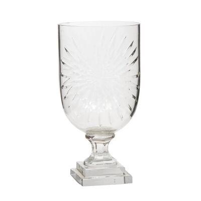 Celeste Cut Glass Goblet Vase, Small