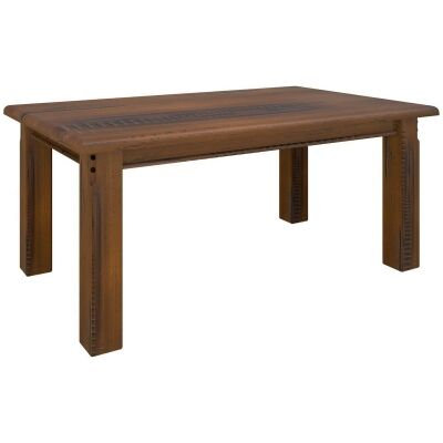 Mulford Solid Pine Timber Dining Table, 180cm