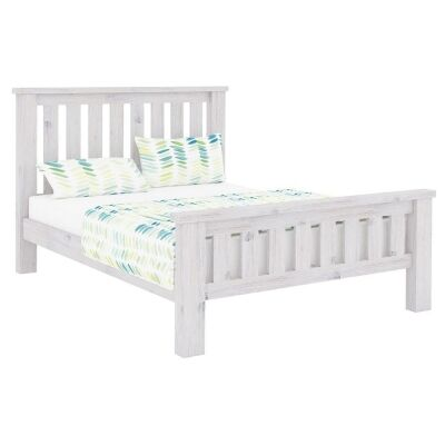 Brockport Acacia Timber Bed, Queen
