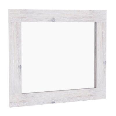 Brockport Acacia Timber Frame Dressing Mirror, 119cm