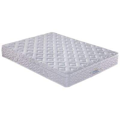 Orthozone Magic Coil Continuous & Pocket Spring Mattress with Pillow Top, King Single
