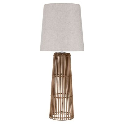 Pacific Rattan Base Table Lamp