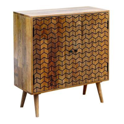 Exeter Mango Wood 2 Door Cabinet