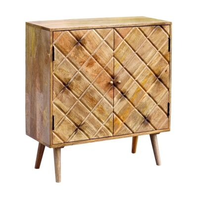 Cadogan Mango Wood 2 Door Cabinet