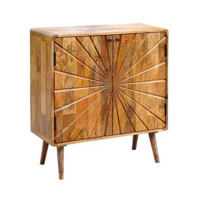 Cowick Mango Wood 2 Door Cabinet