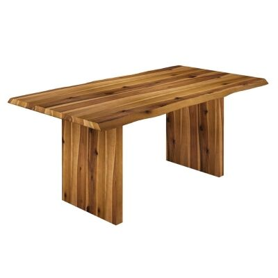 Bodmin Oak Timber Dining Table, 190cm