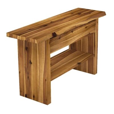 Bodmin Oak Timber Console Table, 130cm
