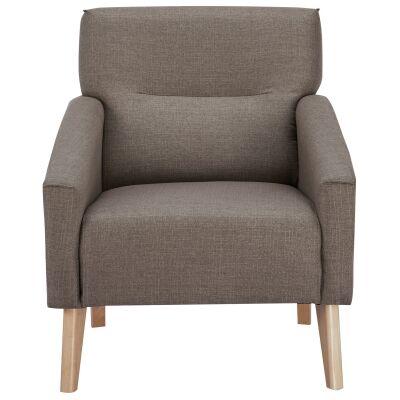 Everton Fabric Armchair, Coffee