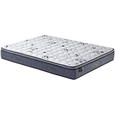Orthopractic Supreme Pocket Spring Mattress with Latex & Memory Foam Pillow Top, Single