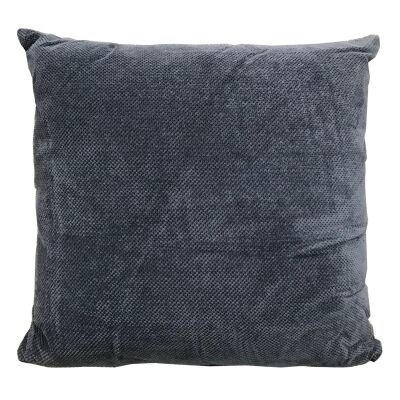 Roslev Fabric Scatter Cushion, Dark Blue