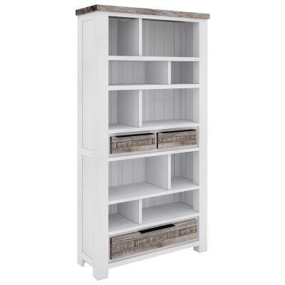 Nordington Acacia Timber Bookcase