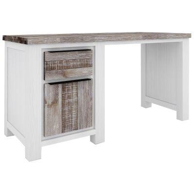 Nordington Acacia Timber Desk, 150cm