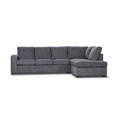 Laverton Fabric Corner Sofa, 3 Seater with RHF Chaise & Pull Out Bed