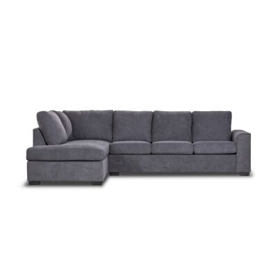 Laverton Fabric Corner Sofa, 3 Seater with LHF Chaise & Pull Out Bed