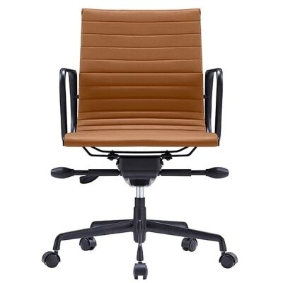 Volt PU Leather Boardroom Chair, Terracotta