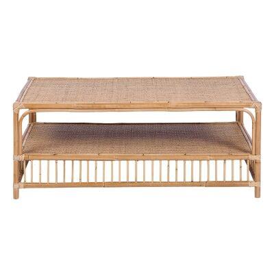 Emita Rattan Coffee Table, 110cm