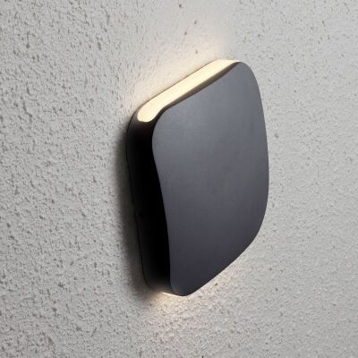 Vox IP54 Exterior Up/Down LED Wall Light, Black