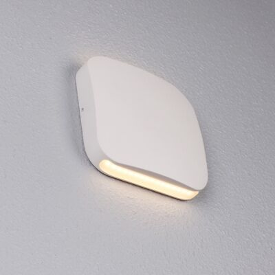 Vox IP54 Exterior Up/Down LED Wall Light, White
