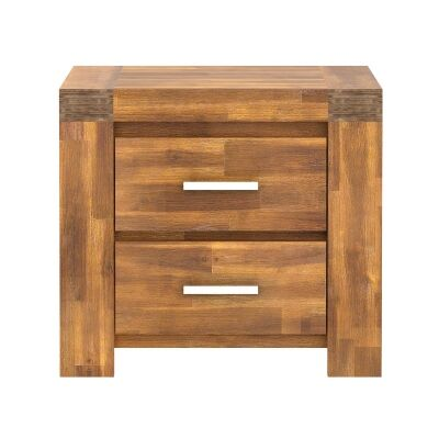 Bowden Acacia Timber Bedside Table