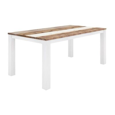 Largo Acacia Timber Dining Table, 200cm