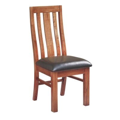Cooper Mountain Ash Timber Dining Chair, PU Seat