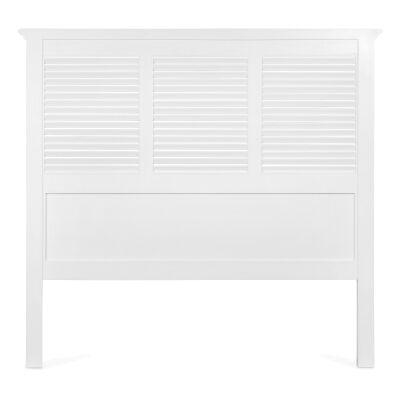 West Beach Wooden Bed Headboard, Queen