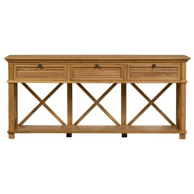 West Beach Wooden Console Table, 190cm