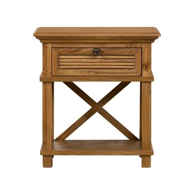 West Beach Wooden Bedside Table