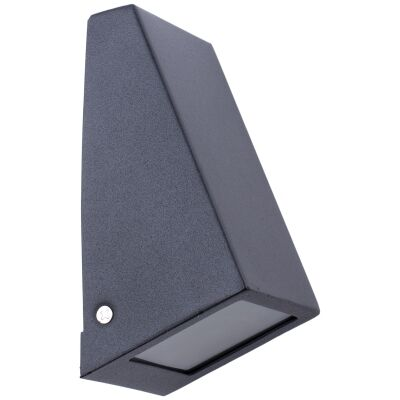 Wedge IP44 Exterior Wall Light, Black