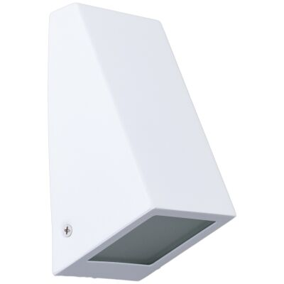 Wedge IP44 Exterior Wall Light, White