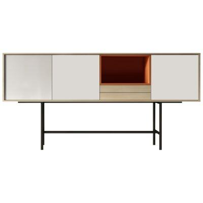 Indie 2 Door 4 Drawer Sideboard, 163cm
