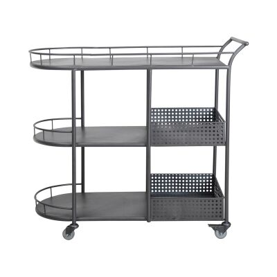 Mieville Commercial Grade Metal Drinks Trolley