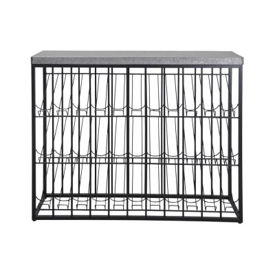 Taylor Commercial Grade Industrial Iron Wine Rack