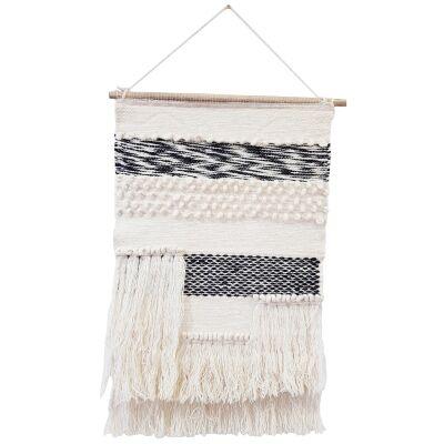 Atlanta Handwoven Wool Macrame Wall Hanging