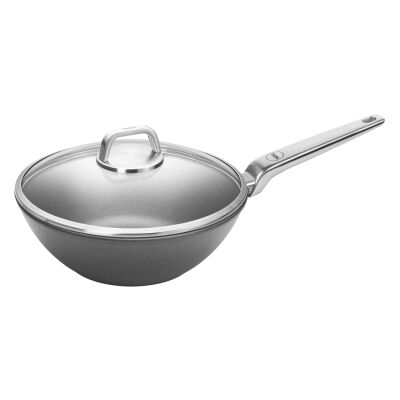 Woll Diamond Lite Pro Induction Wok with Lid, 30cm