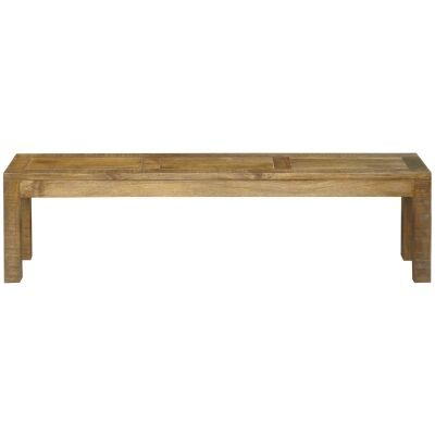 Lansdowne Mango Wood Dining Bench, 150cm