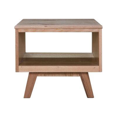 Wade Tasmanian Oak Timber Lamp Table